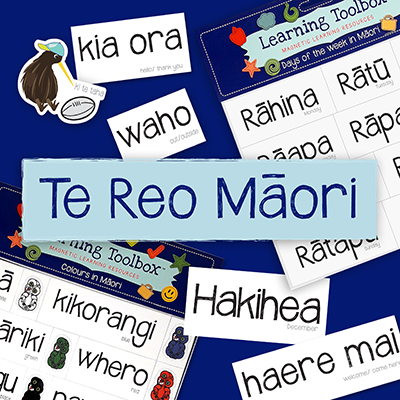 Learning Toolbox Te Reo Maori magnetic resources